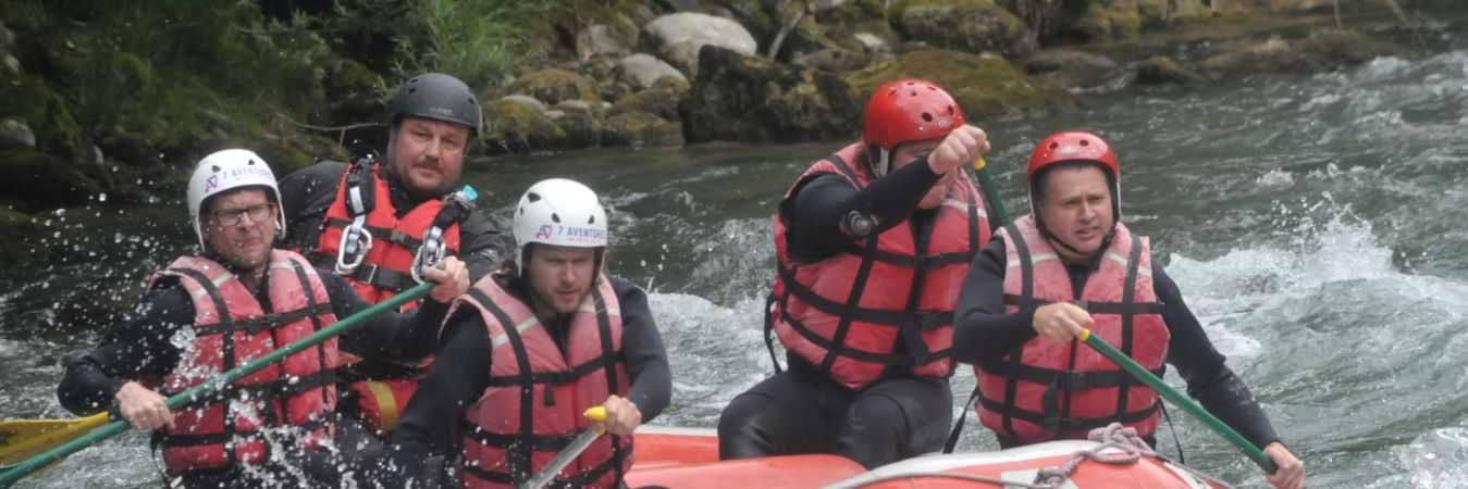 White Water Rafting in Les Gets