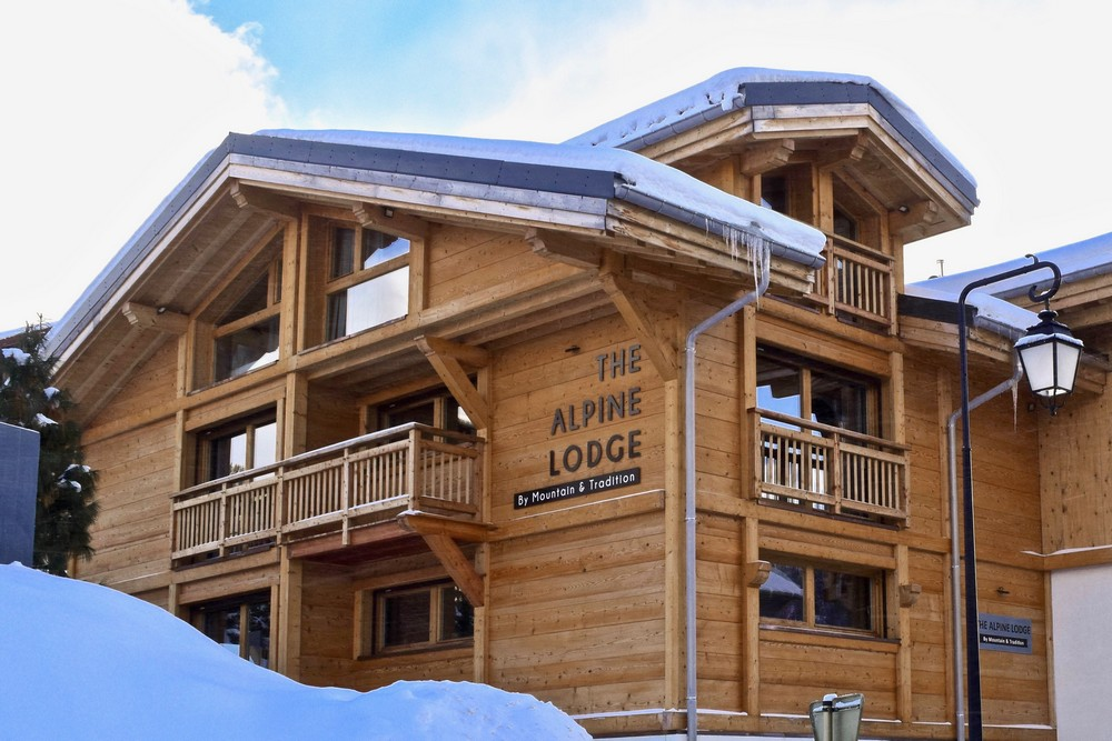 The Alpine Lodge chalet in Les Gets