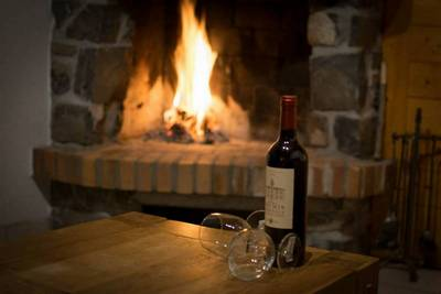 Both chalets have a log fire for you to warm your toes after a day on the slopes