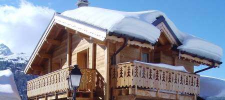 Self-Catered Chalet Rosiere in Courchevel 1650, sleeping 8 guests