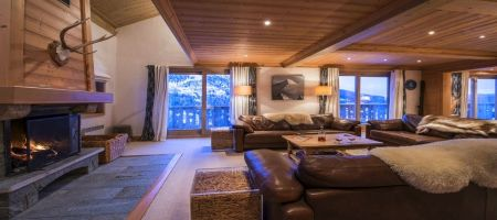 Chalets Meribel. Luxury Chalet Belmont