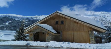 Luxury Chalet La Chouette Exterior in Meribel